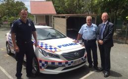 CIRCO pads now on Police cars!