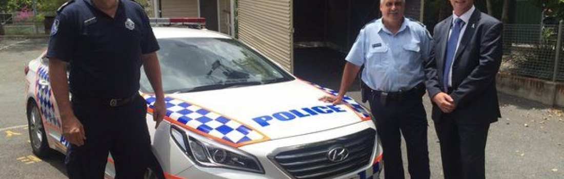 CIRCO pads now on Police cars!