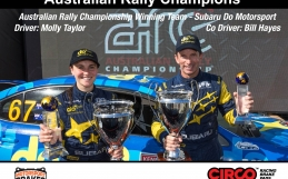 CIRCO Wins Australian Rally C'ship