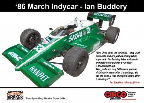 Ian Buddery Indycar