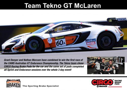 Tekno McLaren GT