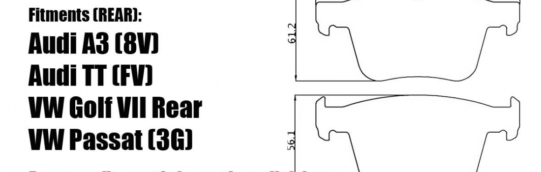 New Product – MB2698 Rear for VW, Audi..