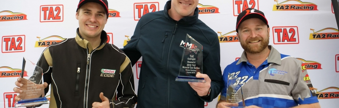 Back-to-back TA2 round wins for George Miedecke